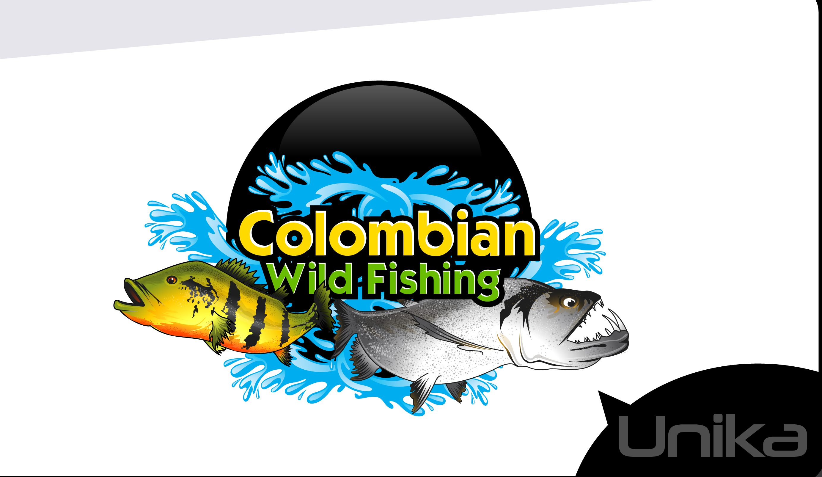 Mascot Colombian Wild Fishing