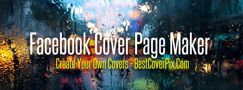 Creative Social Media Page Or Facebook Cover Page Design
