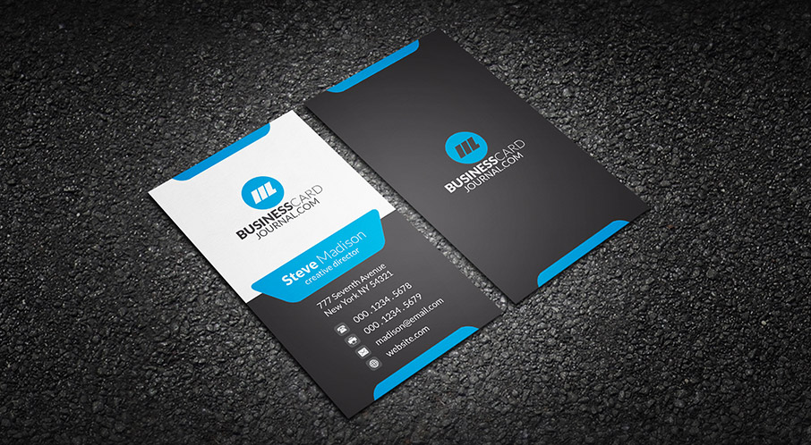 Design your professional business card within 24 hours unika modern business card cheaphphosting Image collections
