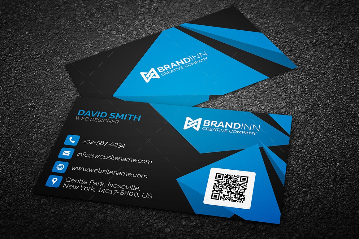 Design your professional business card within 24 hours unika business card business card corporate business card reheart Images