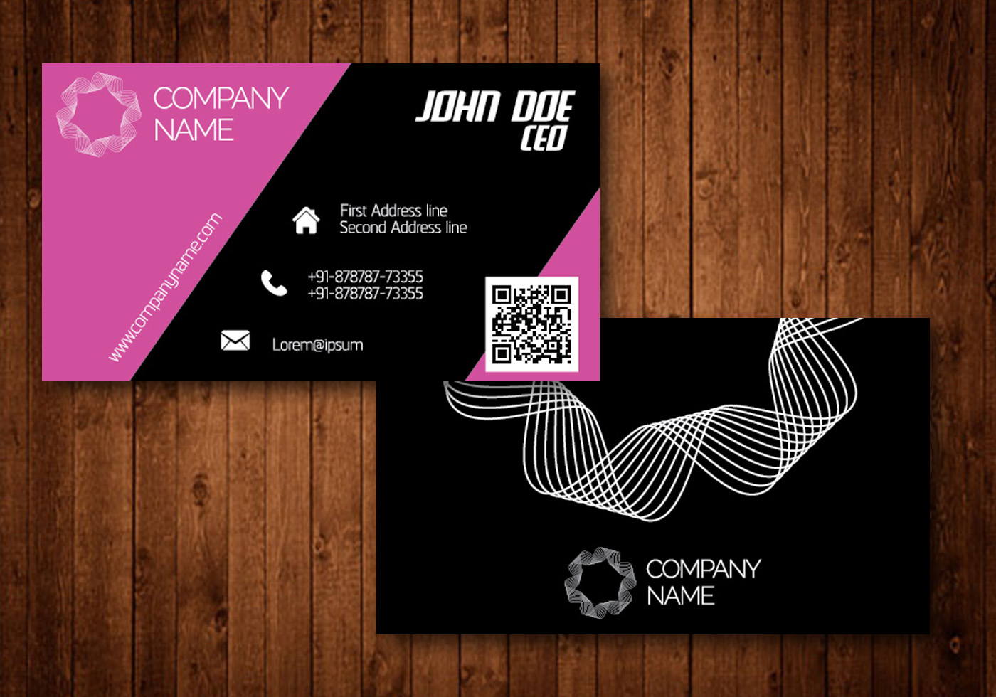 Design your professional business card within 24 hours unika business card reheart Gallery
