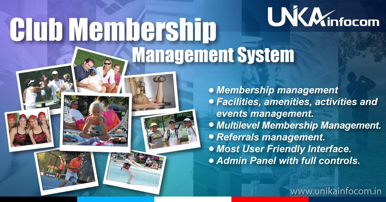 Club Membership Management