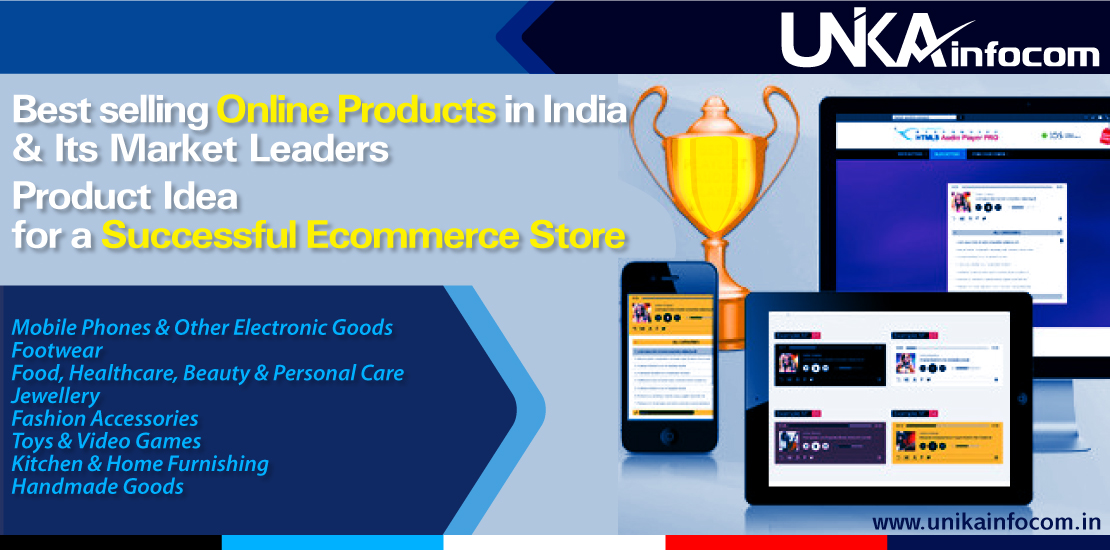Best selling ecommerce Online Products in India
