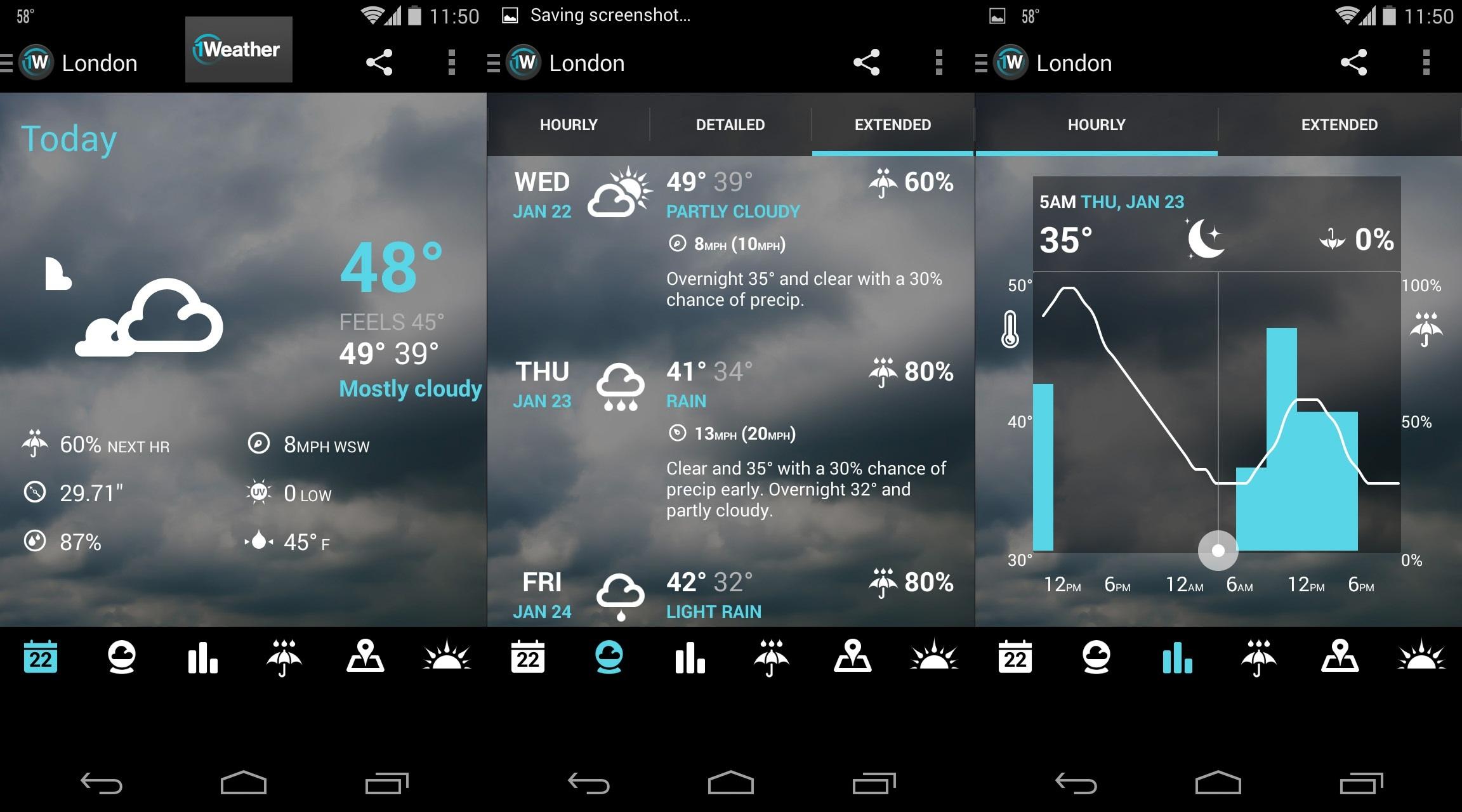 Weather App & Widget