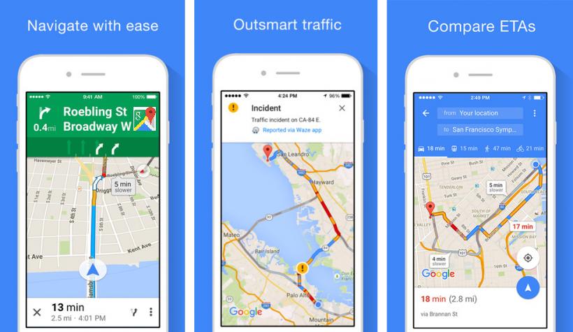 Google Map App
