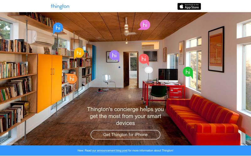 thington concierge smart home