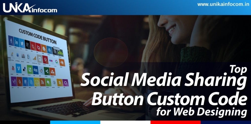 Social Media Sharing Button Custom Code