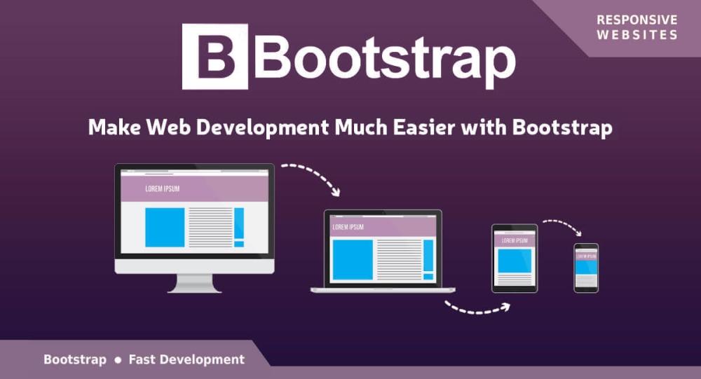 Responsive bootstrap framework