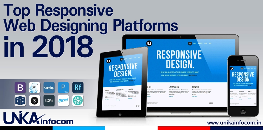 Top Responsive Web Designing Platforms in 2018
