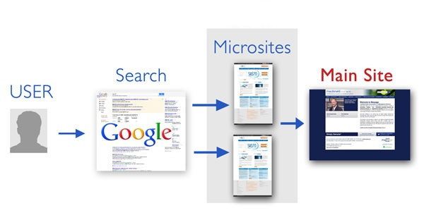 microsites for seo