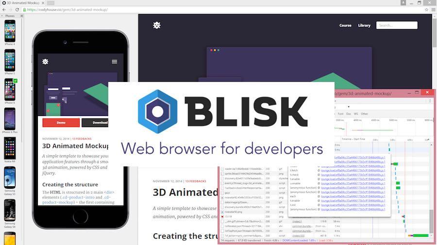 Blisk Browser