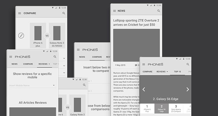 Free Responsive Browser UX Mockup Kit for Photoshop