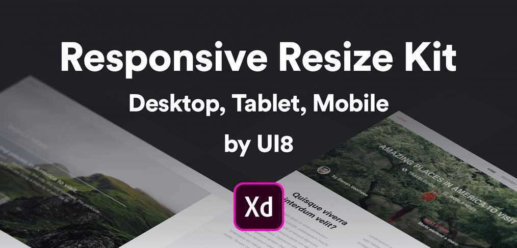 Responsive Resize Kit for Adobe XD