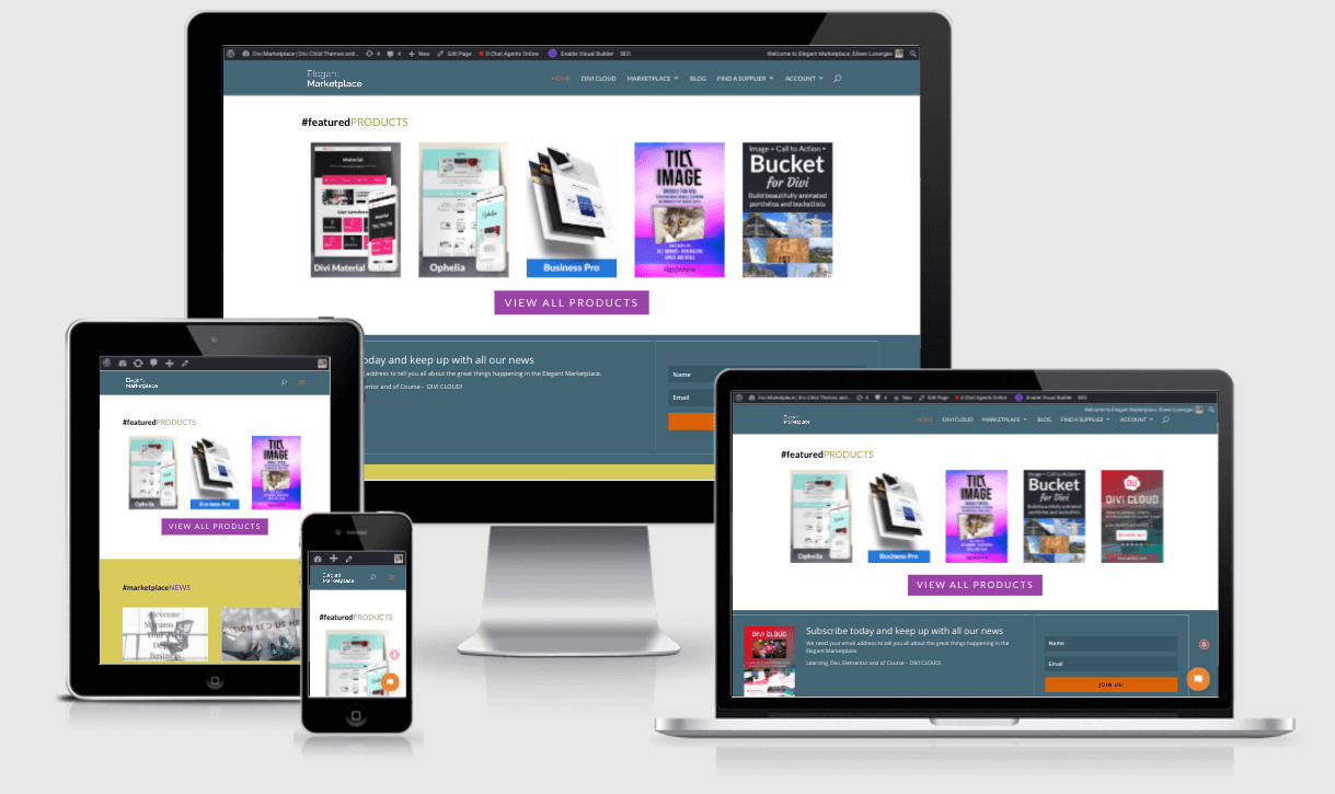 Top free Responsive Website Mockup Kit and Templates 2019