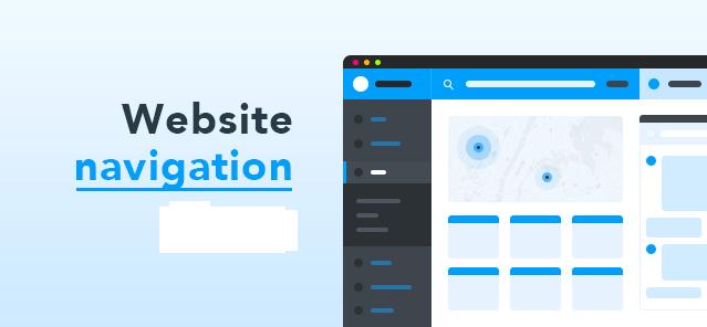 Website navigation tips