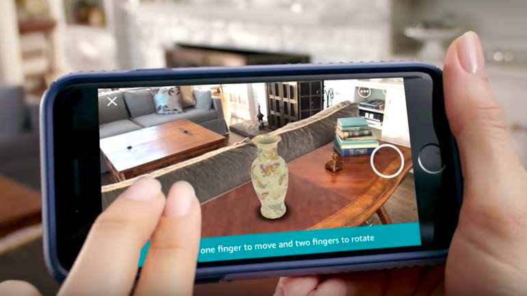 Augmented Reality in App