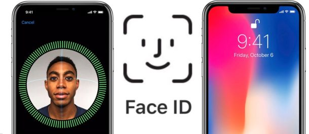 Face id scanning