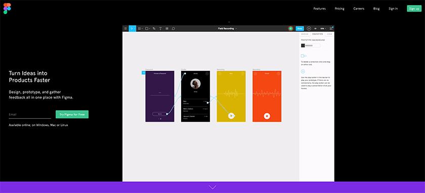 Figma UI Design Tool