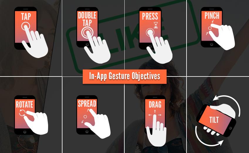 In-App Gestures