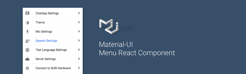 material-ui for react