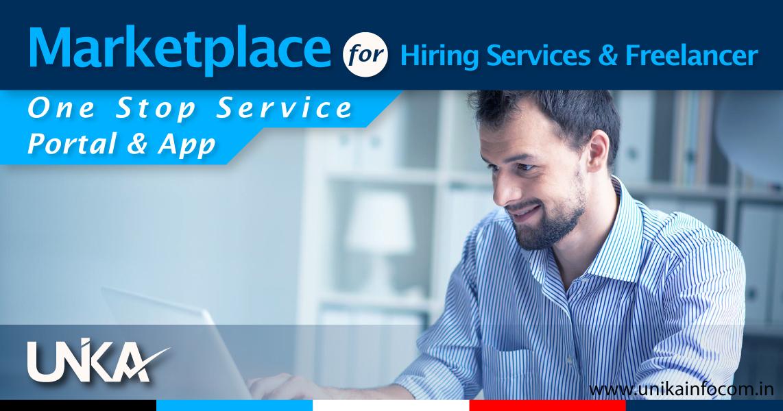 Marketplace for Hiring Services & Freelancer