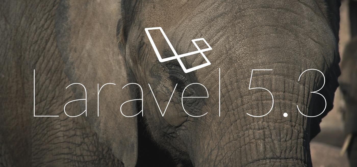 laravel5.3