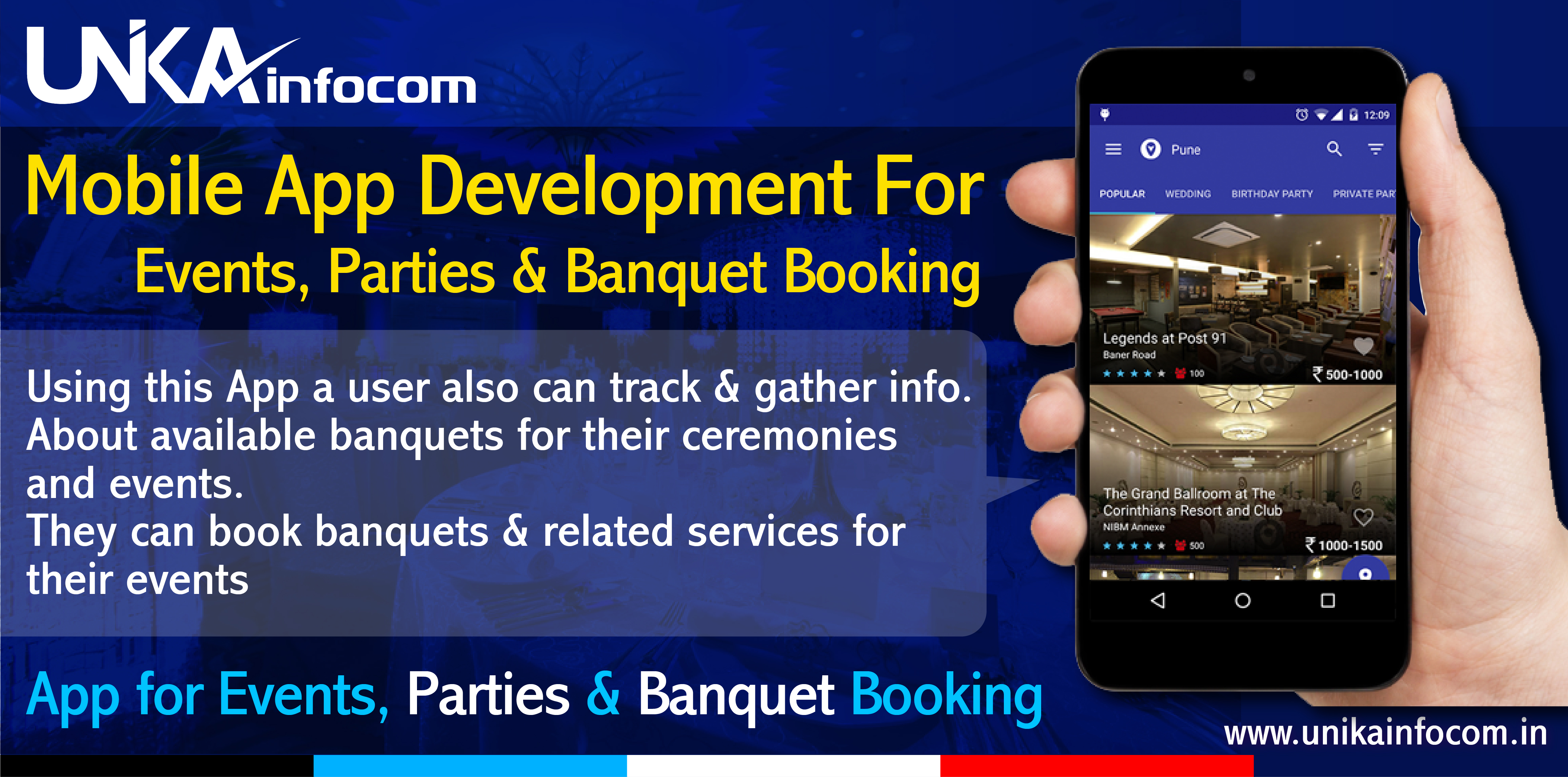 Banquet Booking Mobile App