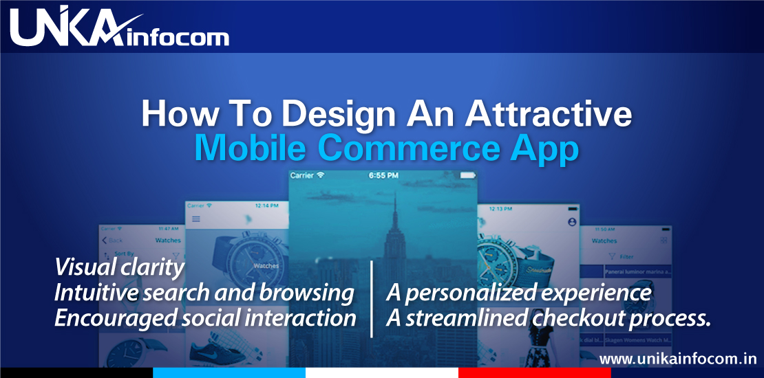 Attractive Mobile Commerce App