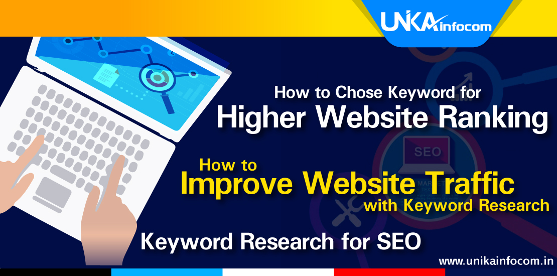Keyword research for Higher ranking