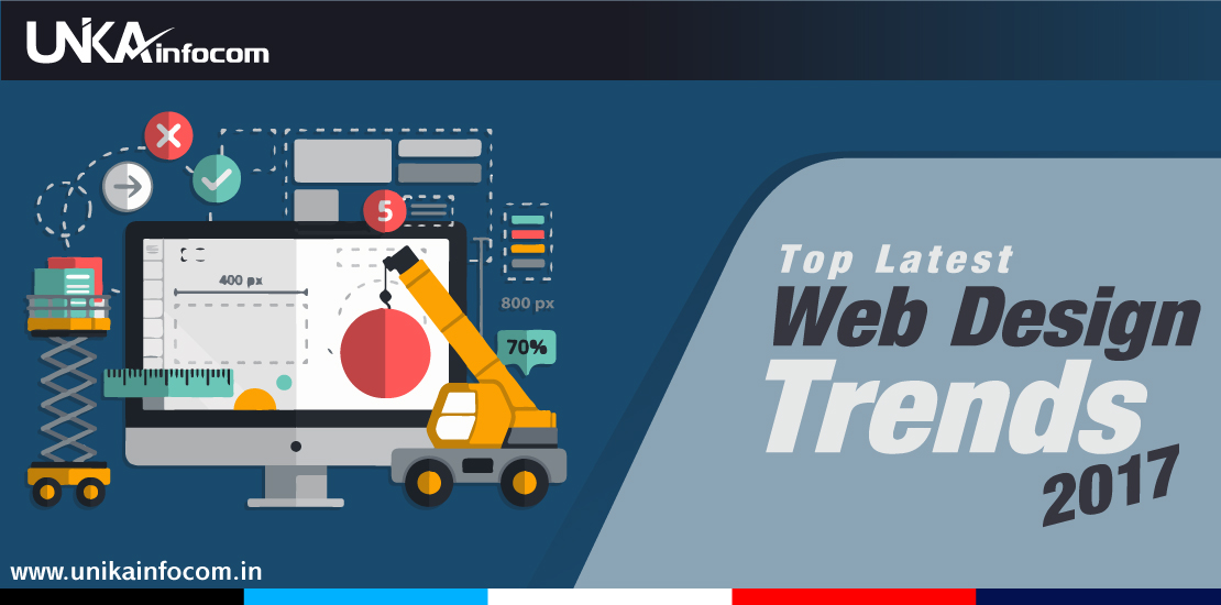 Top Latest Web Design Trends for 2017